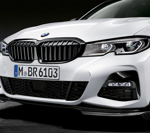 BMW G20 G21 3 Series of front lip splitters