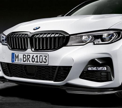 BMW G20 G21 3 Serie voorlippen splitters