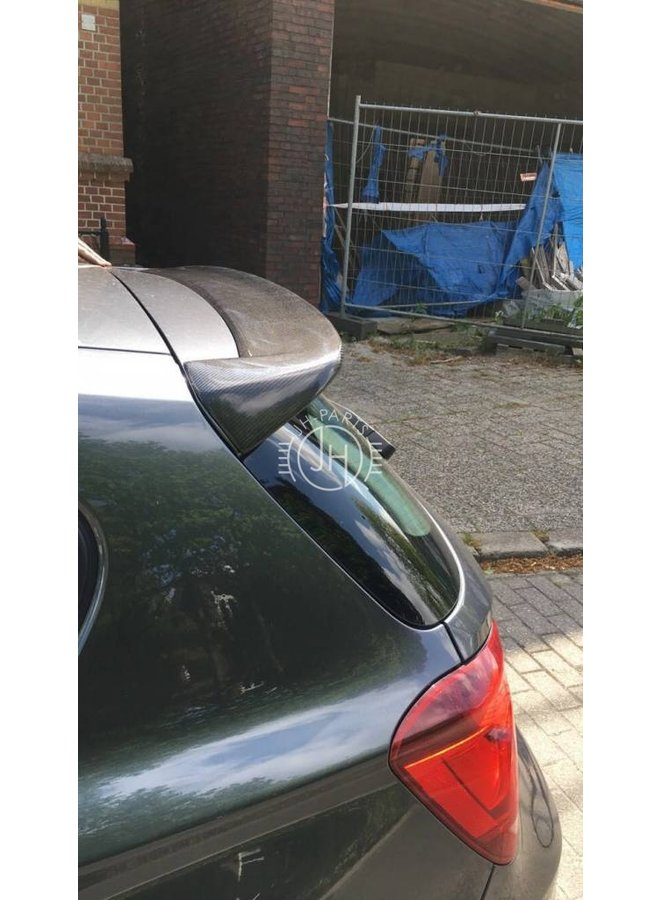 Carbon roof spoiler F20 / F21