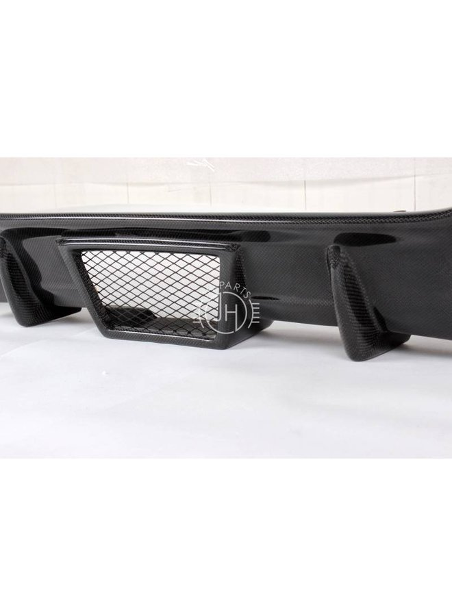 Carbon diffuser V style