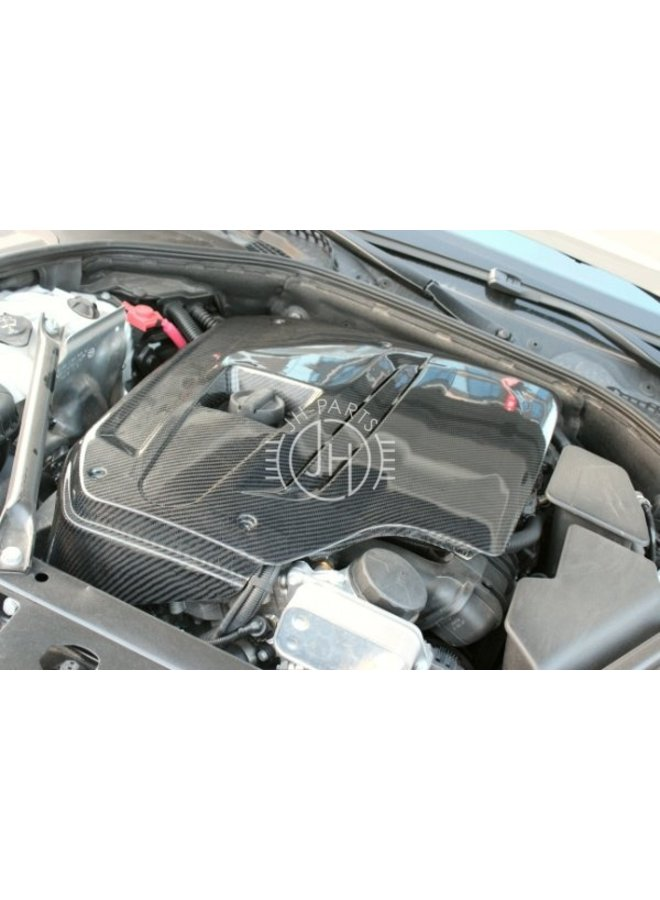 Carbon motorcover