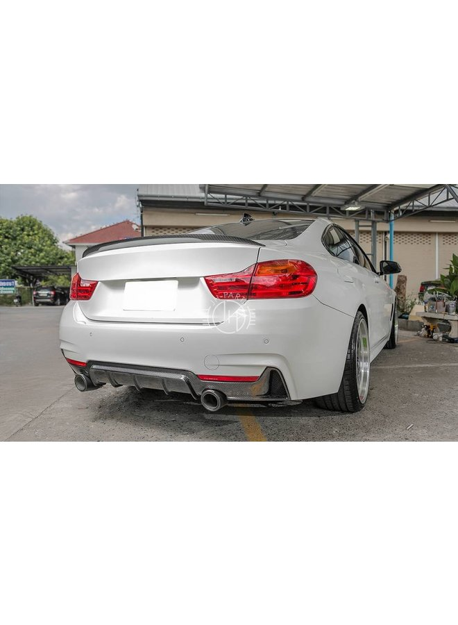 Carbon Performance diffuser BMW 4 Serie F32 F33 F36