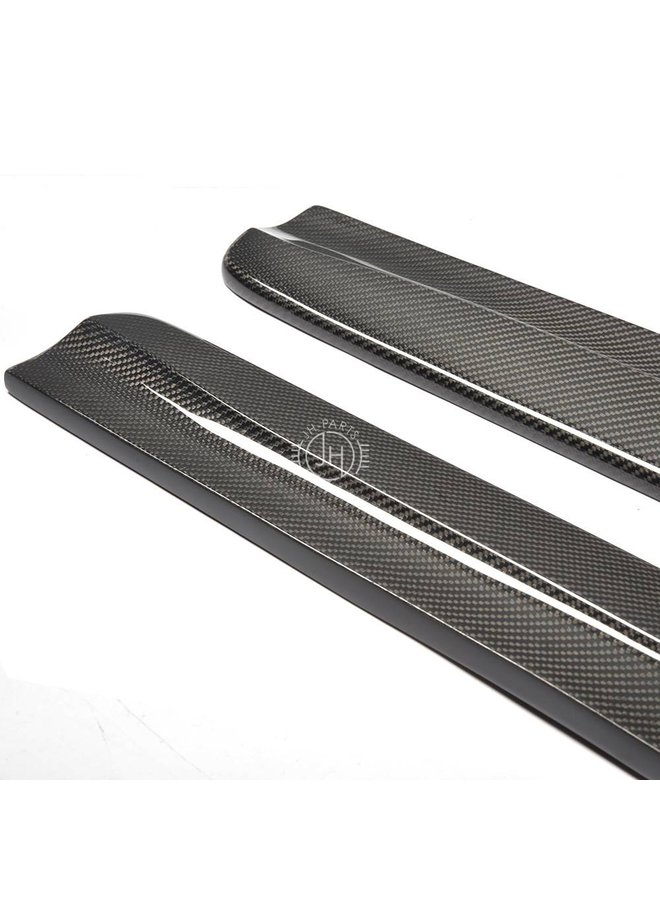 Carbon sideskirt extension