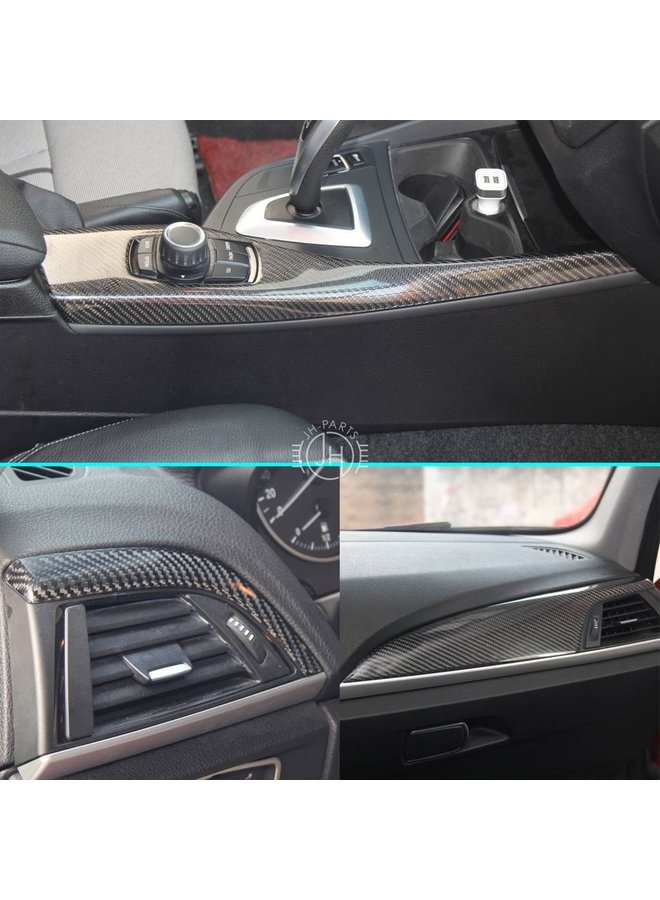 Carbon performance interieur lijsten BMW 1 Serie F20 F21