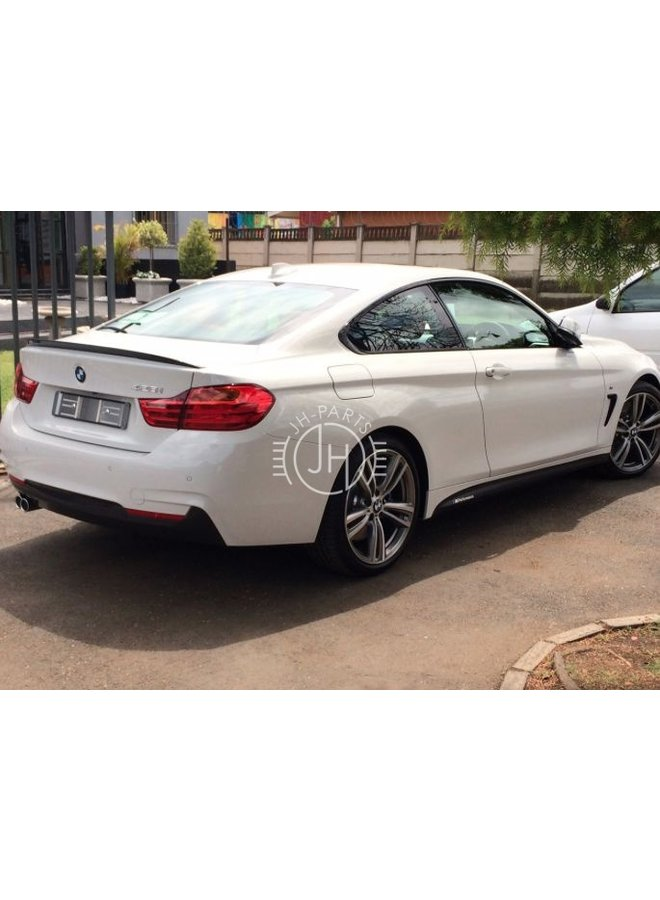 Carbon performance spoiler BMW 4 Serie F32 F36