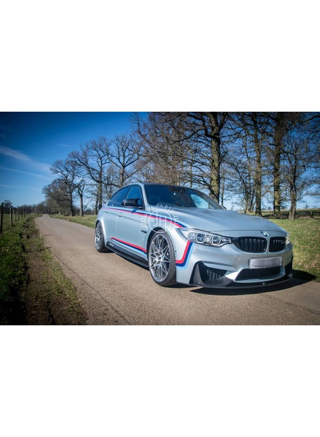 Carbon side skirt extension BMW F80 M3
