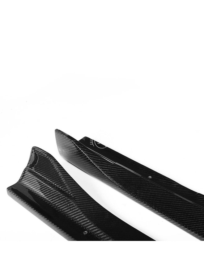 Carbon sideskirt extensions