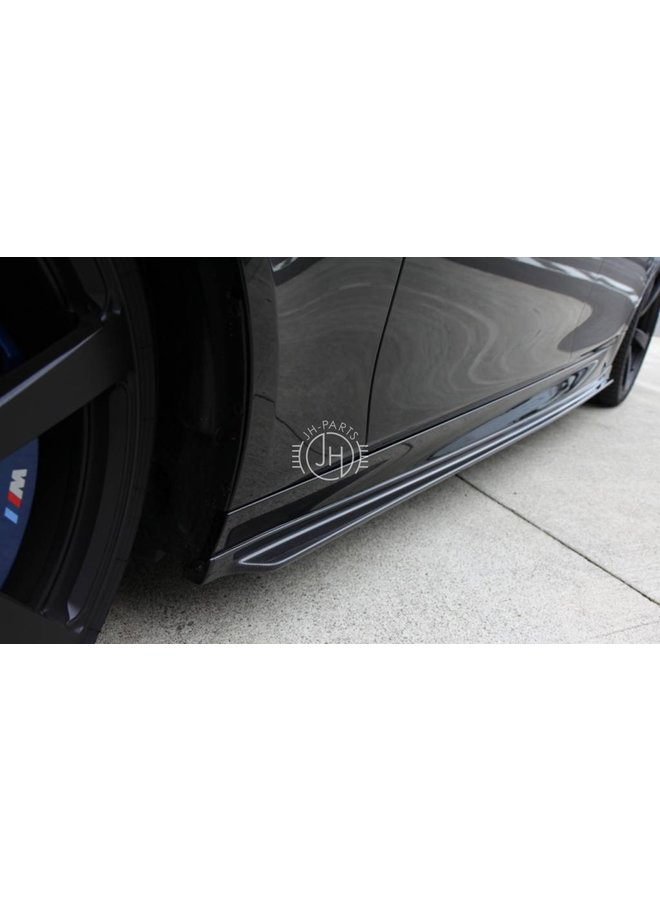 carbon 3DD style side skirt