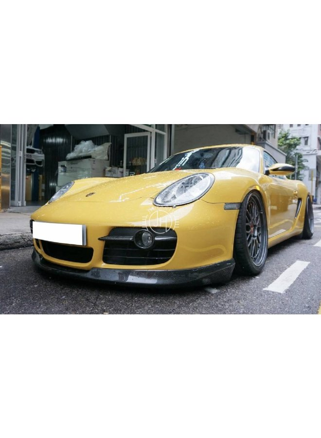 Carbon A Style voorlip 987 Boxster