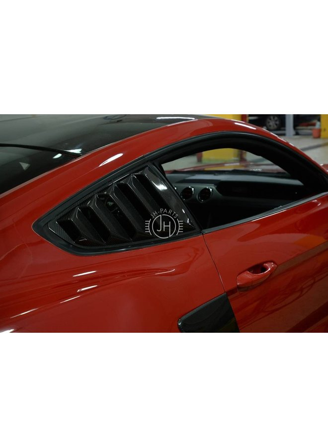 Carbon Raam air vent cover Ford Mustang