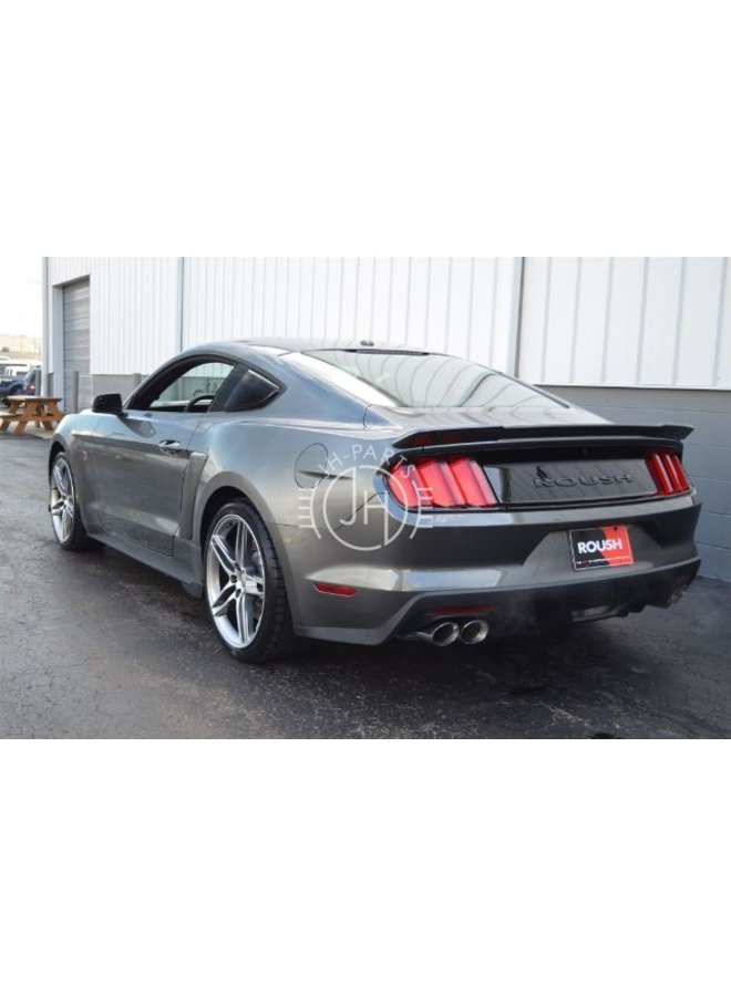Carbon Roush style spoiler Ford Mustang