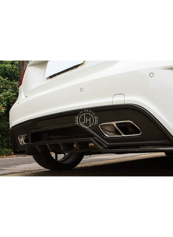 Carbon RZ style diffuser A45 AMG