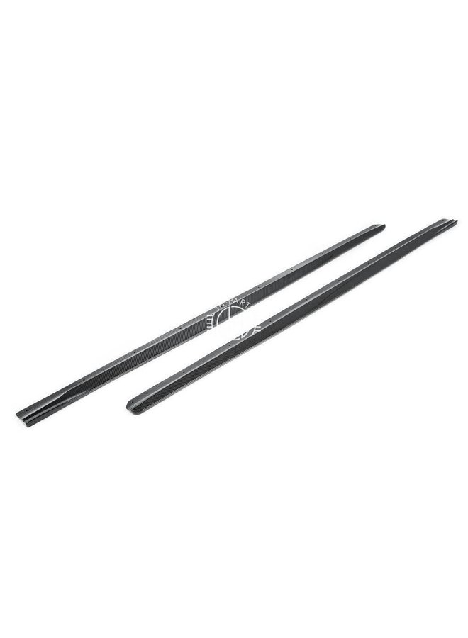 Carbon side skirt GT style BMW F87 M2