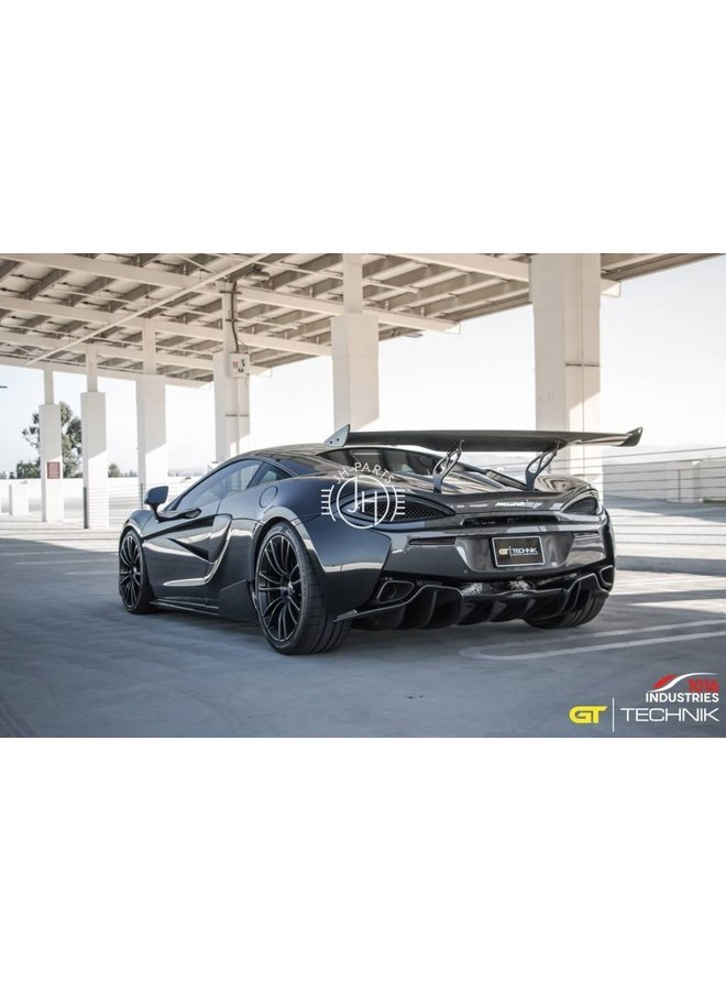 Carbon side skirt extensions 1016 Industries