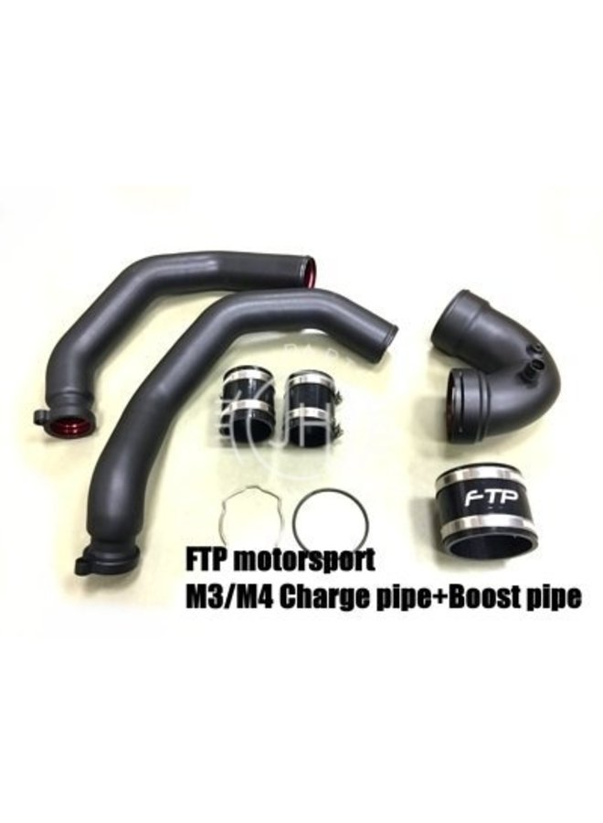 S55 Charge Pipe + Boost pipe