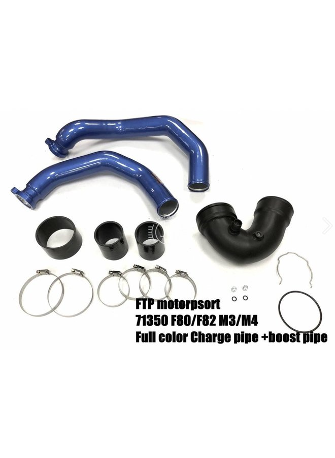 S55 Blauwe Charge Pipe + Boost pipe