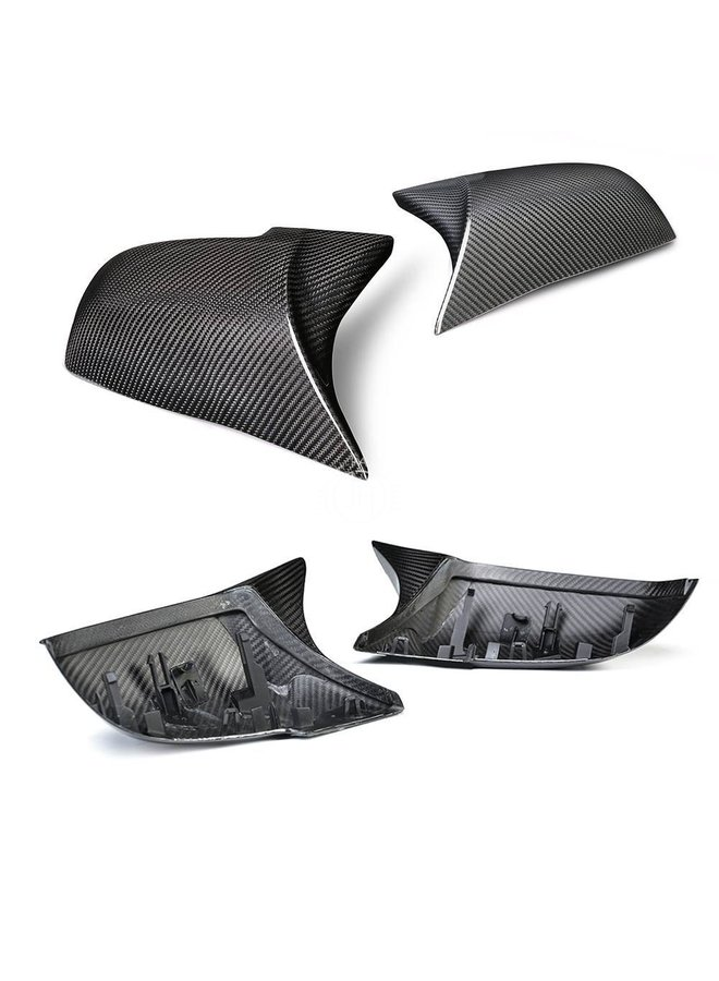 Full carbon M3 / M4 style mirror covers