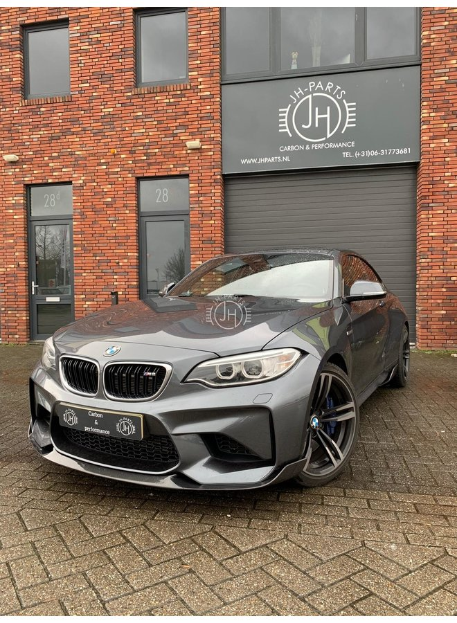 Carbon Competition style voorlip BMW F87 M2