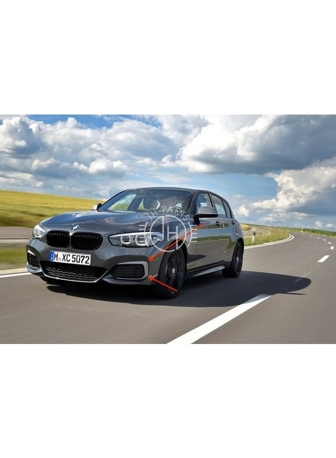 Carbon canards BMW F20 F21 LCI Facelift