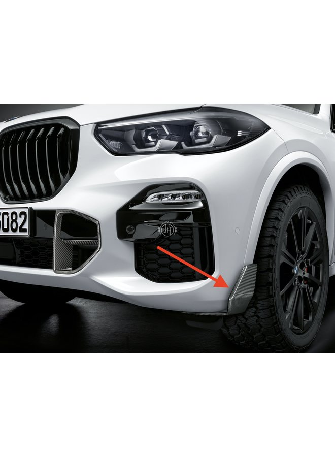 Carbon splitter BMW G05 X5