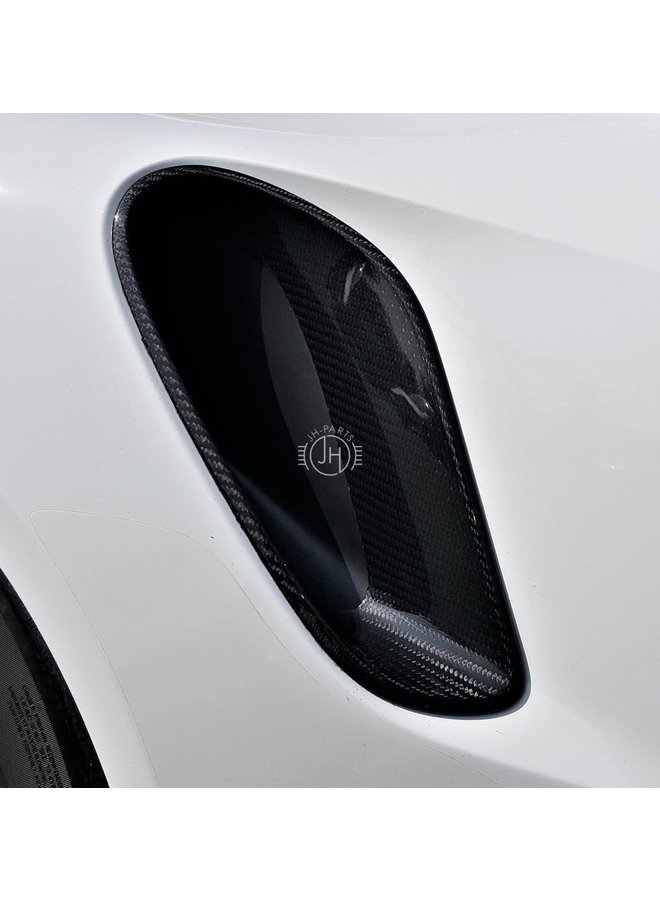 Carbon side intake Porsche 911 991.1 Turbo GT3 RS 991.2 Turbo