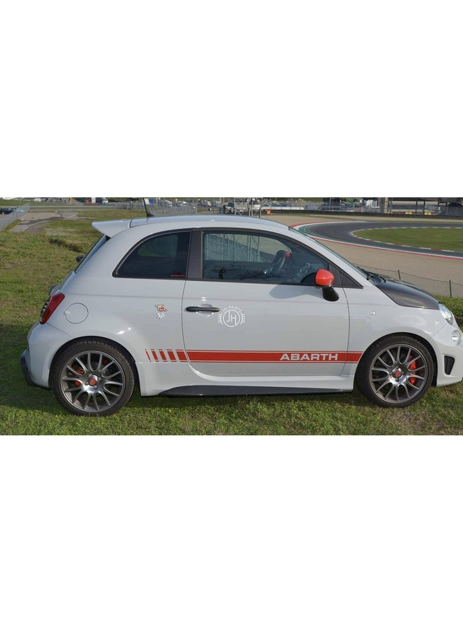 Fiat 595 Abarth carbon side skirts