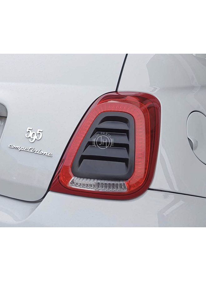 Fiat 595 Abarth achterlamp louvres cover