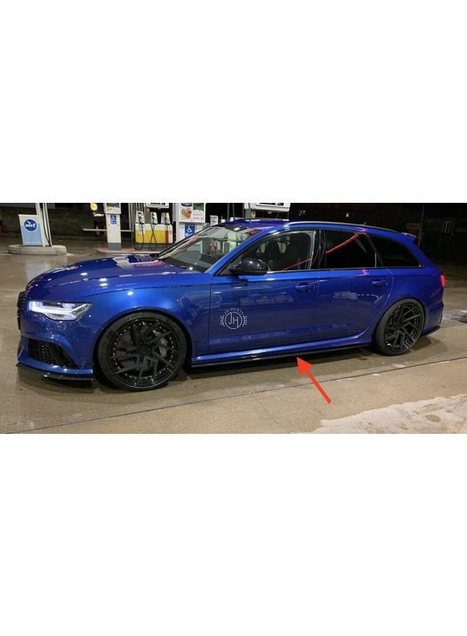 Carbon side skirts Audi RS6 C7