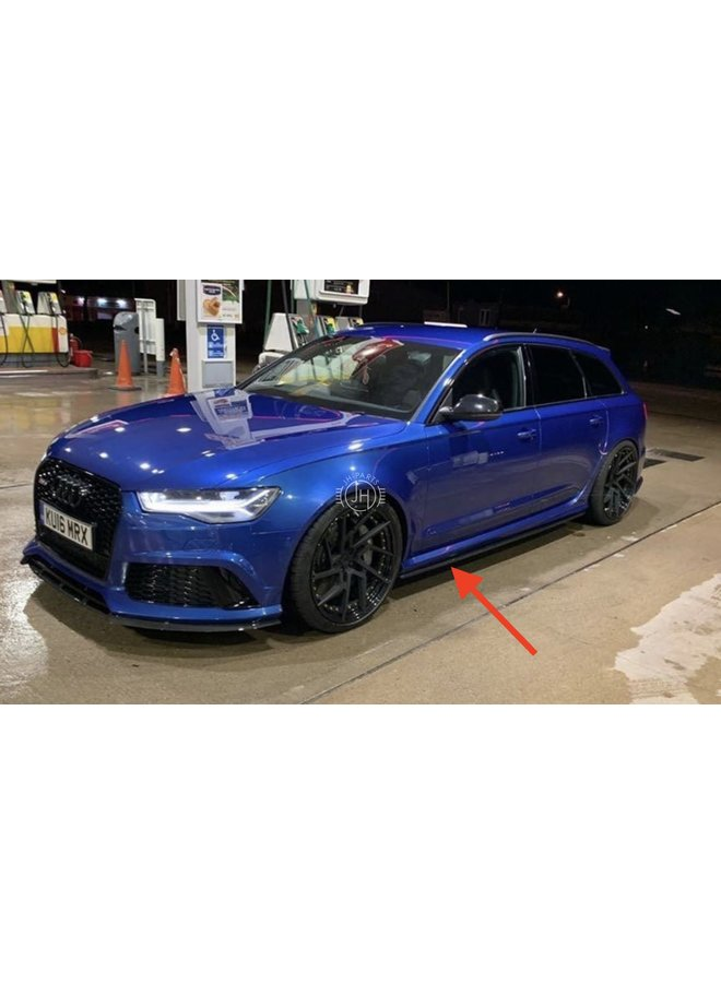 Audi RS6 C7 Carbon side skirts