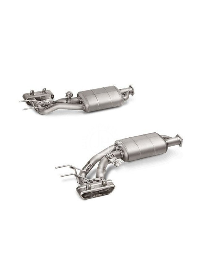 Akrapovic uitlaat systeem Mercedes Benz G63 AMG W463