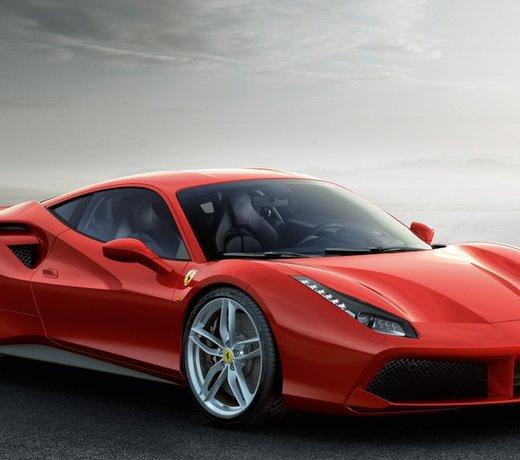 Ferrari 488 carbon parts