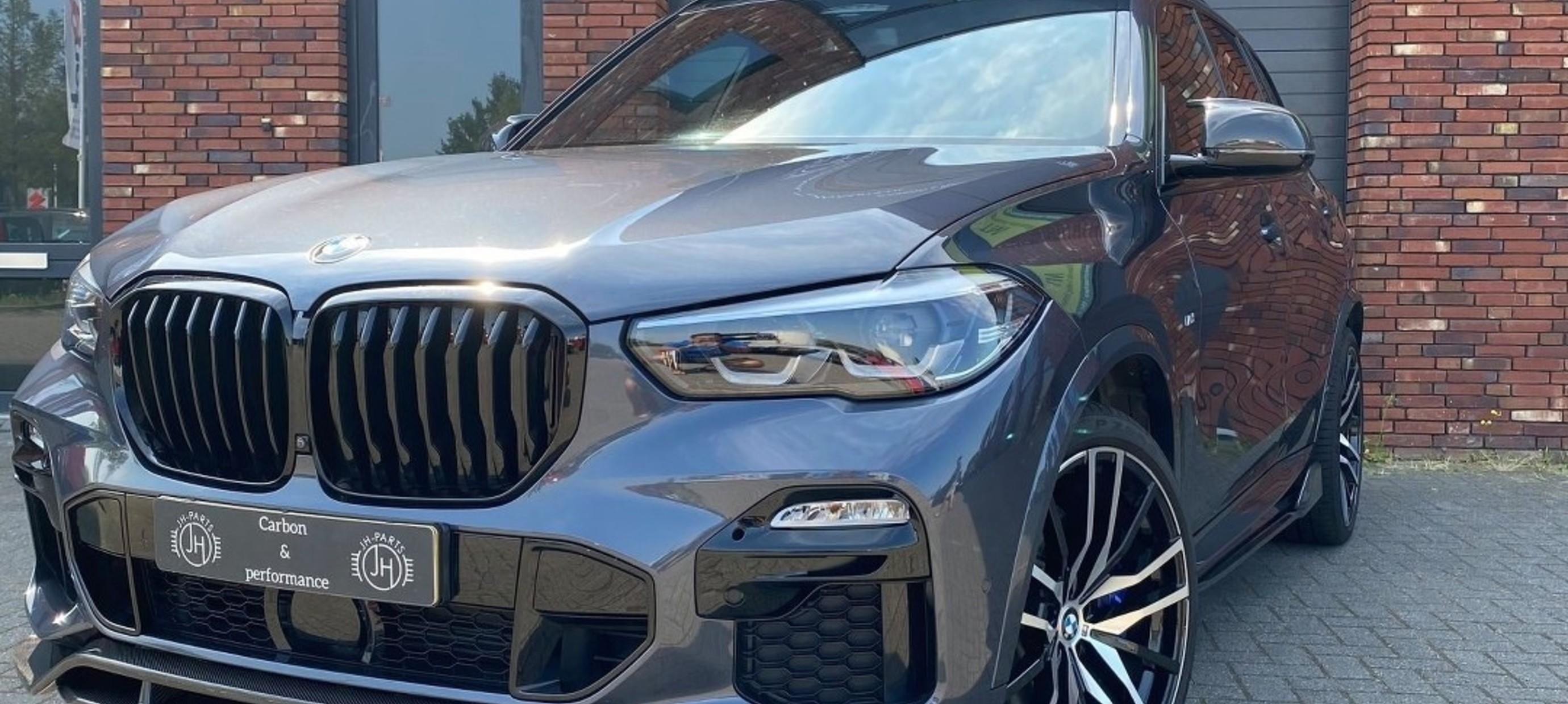 BMW G05 X5 onderdelen gemonteerd