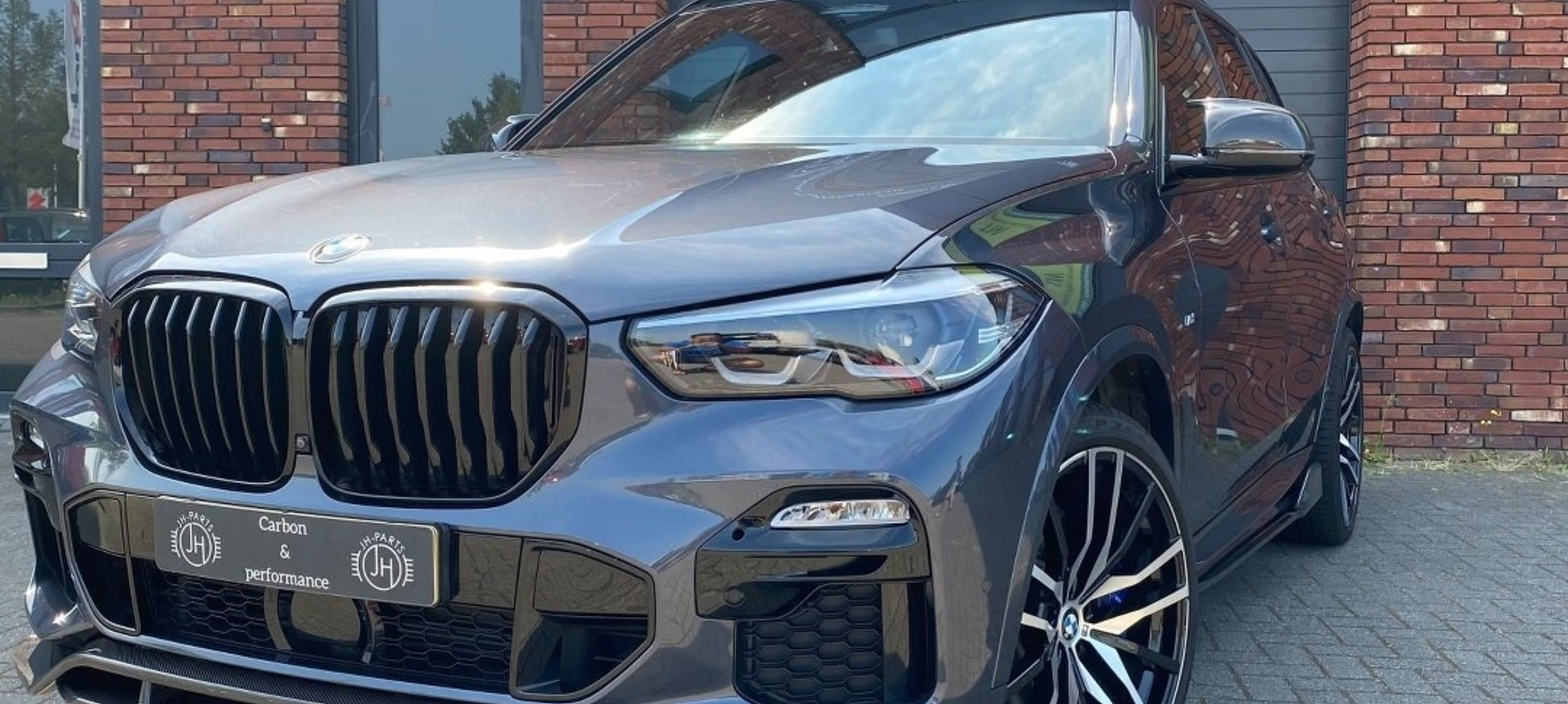 BMW G05 X5 Parts fitted