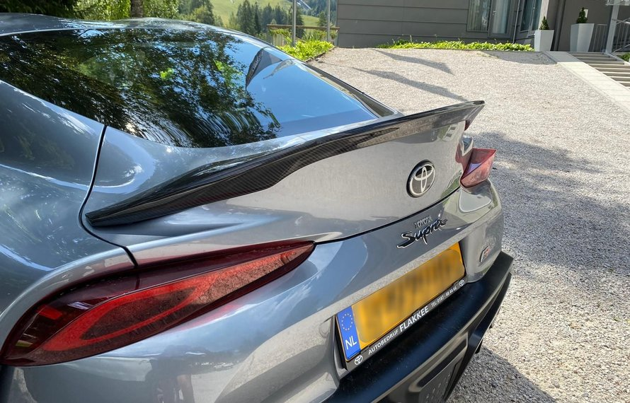 Toyota Supra A90 Carbon trunk boot lid spoiler