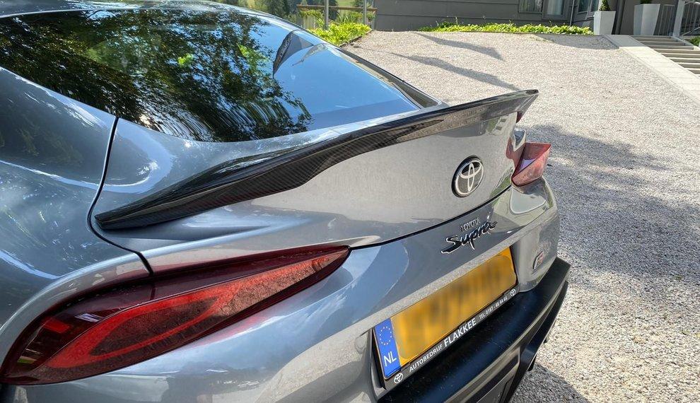 Toyota Supra A90 Carbon trunk boot lid spoiler