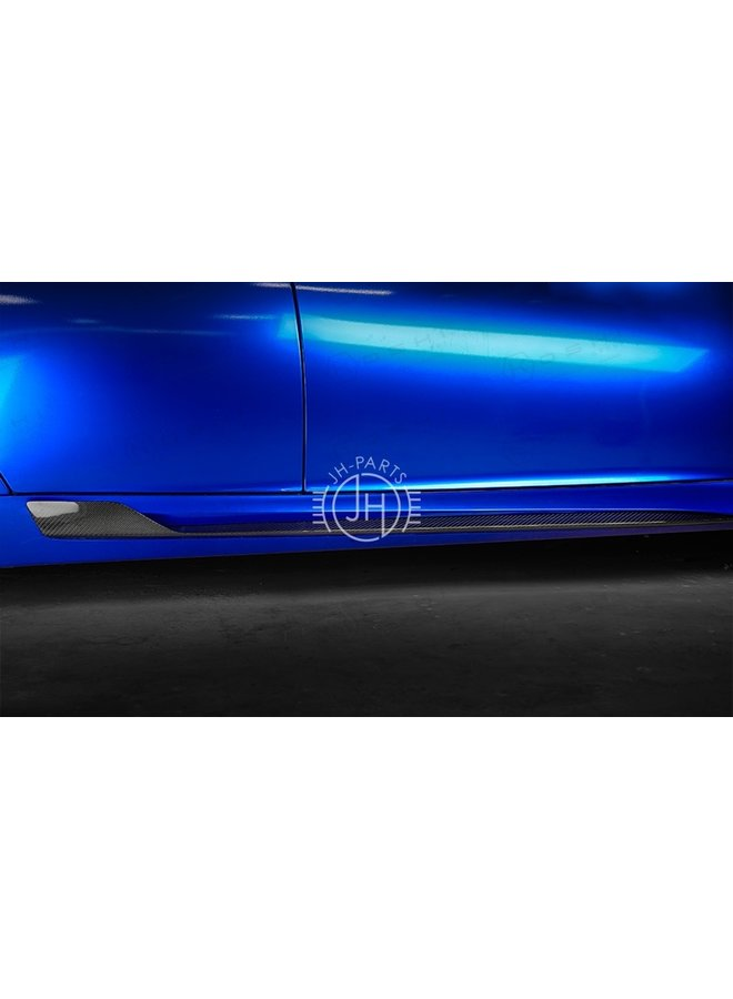 Alfa Romeo Giulia QV Carbon Fiber Racing style Side skirts