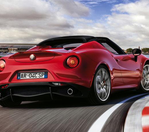 Alfa Romeo 4c carbon & performance parts