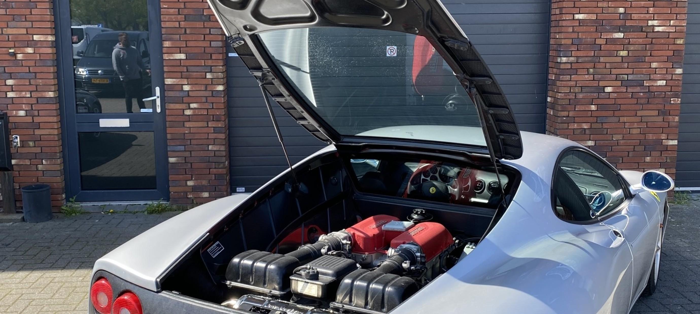 Ferrari 360 Modena Capristo exhaust