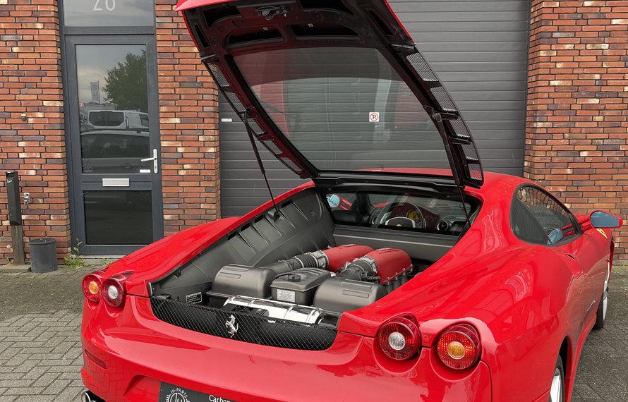 Ferrari F430 mit Capristo Auspuff ausgestattet