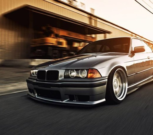 Exterior parts for the E36