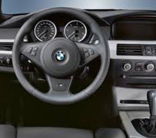 Interieur onderdelen voor de BMW E60 / E61