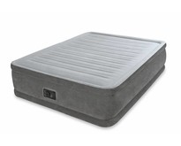 Queen Comfort Plush Elevated Airbed Kit