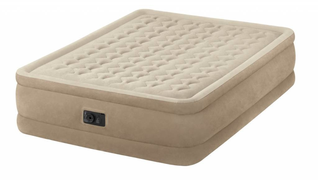 Intex Queen Ultra Plush Airbed Kit Dura-Beam
