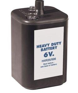 Batterij 6V (H4R25)