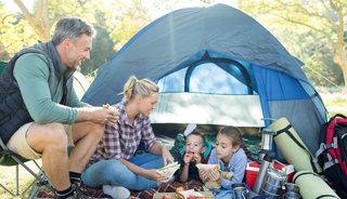 Goed luchtbed voor kamperen