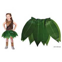 Hawaii Jungle rok groene bladeren kind