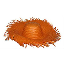 Carribean hoed oranje