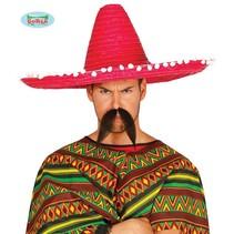 Rode Mexicaanse Sombrero 60cm