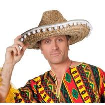 Sombrero met bolletjes