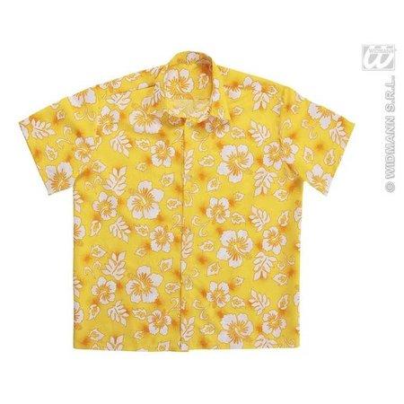 Hawaii blouse geel